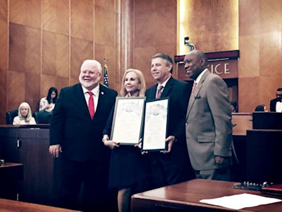 Proclamation from Houston Mayor Sylvester Turner